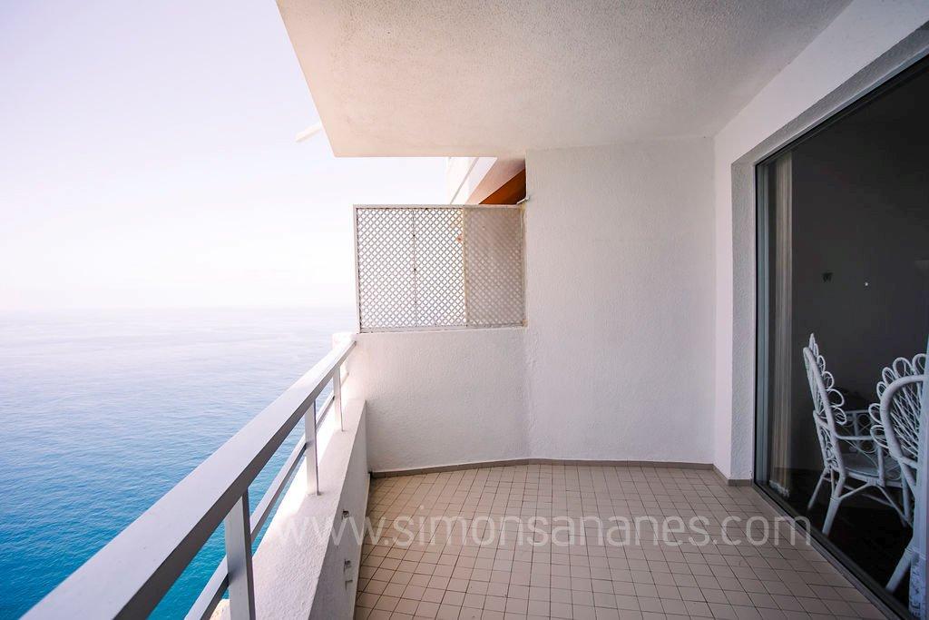 Apartment Meerblick. Zweite Terrasse