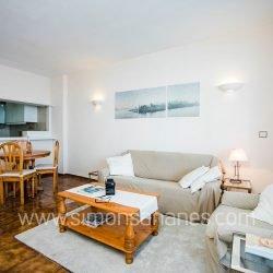 Apartment Meerblick+Teide Teneriffa_ Wohnzimmer